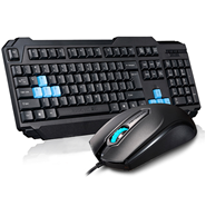 Bộ Keyboard + Mouse Motospeed S51 USB Đen