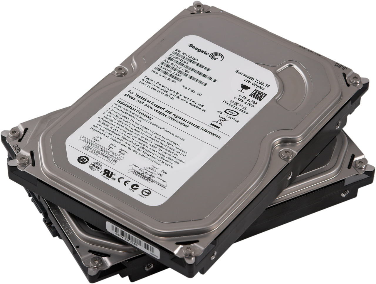 HDD 80GB SATA